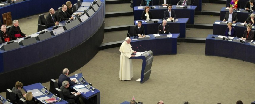 The Pope recalls the soul of Europe