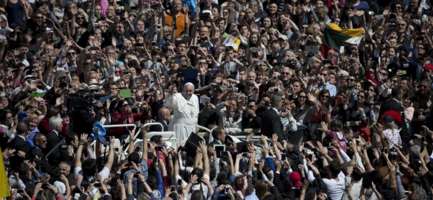"Pope Francis:  ""Promote the culture of encounter"""